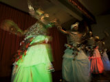 Traditional Kandyan Dancers Performing  Kandy  Sri Lanka