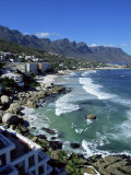 Exclusive Houses at the Upmarket Clifton Beach  Cape Town  South Africa  Africa