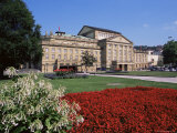 The State Theater  Schlossplatz  Stuttgart  Baden Wurttemberg  Germany