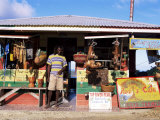 Colourful Souvenir Shop  Speyside  Tobago  West Indies  Caribbean  Central America