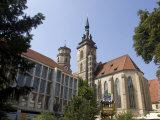 Stiftskirche Church  Stuttgart  Baden Wurttemberg  Germany