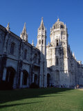 Mosteiro Dos Jeronimos  Dating from the 16th Century  in Manueline Style  Belem