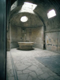 Baths  Pompeii  Campania  Italy