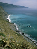 Coastline Between Big Sur and San Simeon  Monterey County  California  USA