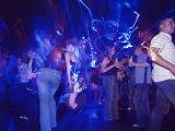 Young People at the Trendy Cube Nightclub  Glasgow  Scotland  United Kingdom