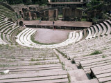 The Great Theatre  Pompeii  Unesco World Heritage Site  Campania  Italy