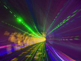 West Bund Sightseeing Tunnel  Huangpu District  Shanghai  China