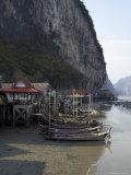 Ko Panyi  Muslim Fishing Village  Phang Nga  Thailand  Southeast Asia