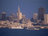 City Skyline from the Bay  San Francisco  California  USA