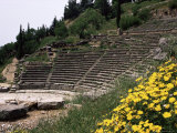 The Theatre  Delphi  Unesco World Heritage Site  Greece
