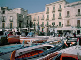 Marina Corta  Lipari  Aeolian Islands (Isole Eolie)  Sicily  Italy  Mediterranean