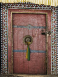 Door  Hemis Gompa (Monastery)  Hemis  Ladakh  Indian Himalaya  India