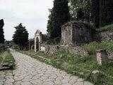 Via Dei Sepolchri  Pompeii  Unesco World Heritage Site  Campania  Italy