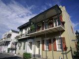 Bourbon Street  French Quarter  New Orleans  Louisiana  USA