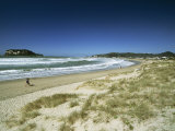 Beach on the East Coast of Coromandel Peninsula  South Auckland  North Island  New Zealand