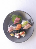 Plate of Raw Fish  Japan