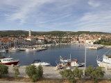 Supetar  the Main Town on the Island of Brac  Croatia