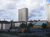 High Rise Apartment Buildings  Glasgow  Scotland  United Kingdom