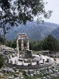 The Tholos  Delphi  Unesco World Heritage Site  Greece