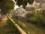 Canal and Houses  Souzhou (Suzhou)  China