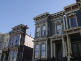 Victorian Homes  Haight District  San Francisco  California  USA