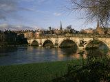 English Bridge  Shrewsbury  Shropshire  England  United Kingdom