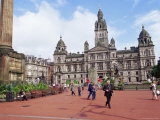 Town Hall  George Square  Glasgow  Scotland  United Kingdom