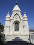 The Mausoleum of the Petrinovic Family in Supetar  Brac  Croatia