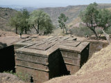 Rock-Cut Christian Church  Lalibela  Unesco World Heritage Site  Ethiopia  Africa