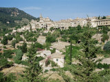 Village of Valldemossa  Majorca  Balearic Islands  Spain  Mediterranean