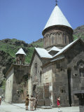 Geghard Monastery  Unesco World Heritage Site  Armenia  Central Asia