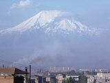 Mount Ararat  Erevan  Armenia  Caucasus  Central Asia