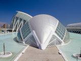 Hemispheric Planetarium and Cinema  City of Arts and Sciences  Architect Santiago Calatrava  Spain