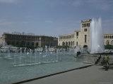 Lenin Square  Erevan  Armenia  Caucasus  Central Asia