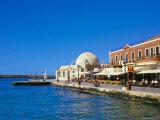 Hania (Chania) Seafront and Harbour  Hania  Island of Crete  Greece  Mediterranean