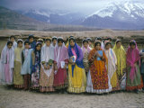 Schoolgirls  Boyerahmad Tribe  Iran  Middle East