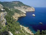 The Northern Coast of the Island Near Na Xamena  Near Sant Miguel  Ibiza  Balearic Islands  Spain