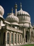 Royal Pavilion  Built by the Prince Regent  Later King George Iv  Brighton  Sussex  England