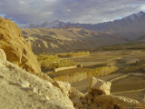 The Bamiyan Valley and the Koh-I-Baba Range of Mountains  Afghanistan