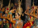 Dancers Performing at the Erawan Shrine  Bangkok  Thailand  Southeast Asia