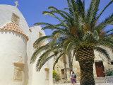 Mono Preveli Christian Monastery  Near Plakias  Island of Crete  Greece  Mediterranean