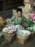 Javanese Woman  Jogjakarta  Java  Indonesia  Southeast Asia