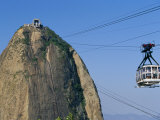 Cable Car and Pao De Acucar (Sugar Loaf)  Rio De Janeiro  Brazil  South America