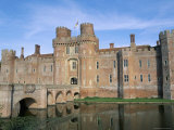 Herstmonceux Castle  Dating from 15th Century  Sussex  England  United Kingdom
