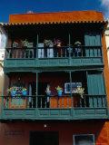Casa De Los Balcones (Typical Canarian House with Balcony)  Santa Cruz De La Palma  La Palma  Spain