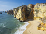 Dona Ana Beach and Coastline  Lagos  Western Algarve  Algarve  Portugal