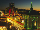 Holiday Lights  Country Club Plaza  Kansas City  Missouri  USA