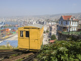 Funicular  Valparaiso  Chile  South America