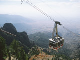 Sandia Peak Tramway  Albuquerque  New Mexico  USA