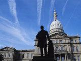 Michigan State Capitol  Lansing  Michigan  USA